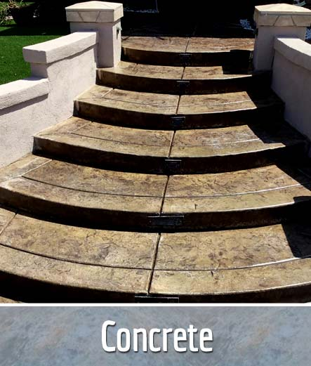 concrete patio driveway installation contractor